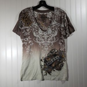Sinful by Affliction T-shirt Size XL